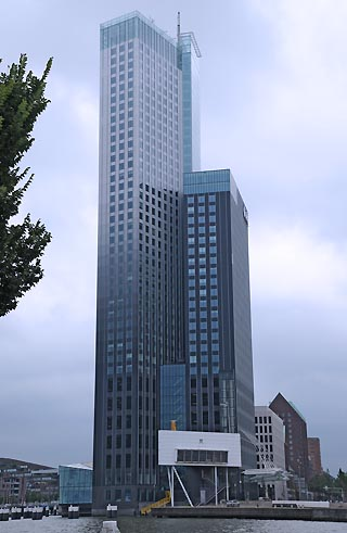 modern building rotterdam