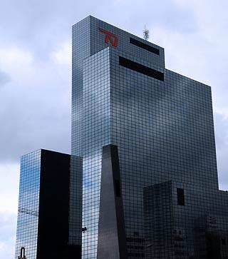 modern buildings rotterdam