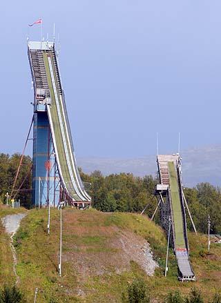 ski jump tromso norway