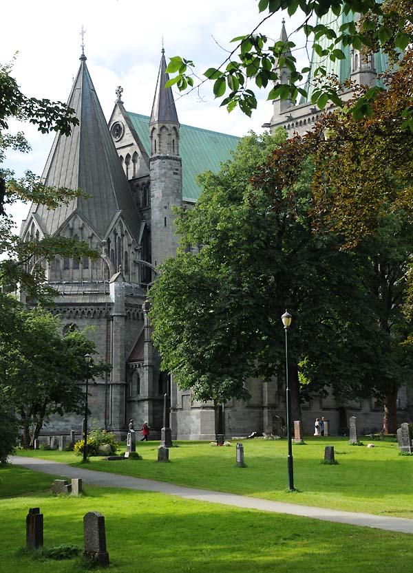 nidaros cathedral tronheim norway