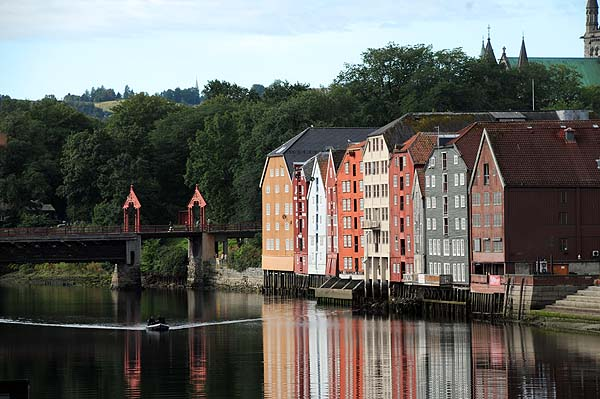 waterfront warehouse trondheim norway
