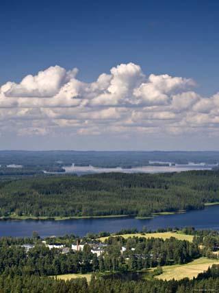 Lakes and Islands, Kuopio, Eastern Lakeland, Finland