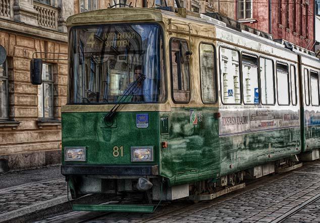 helsinki trolley
