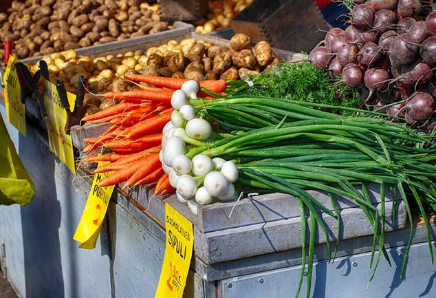 vegetable market helsinki