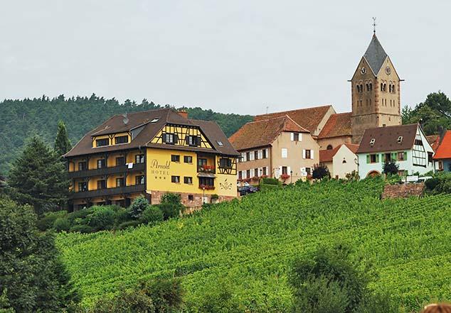 rural village france