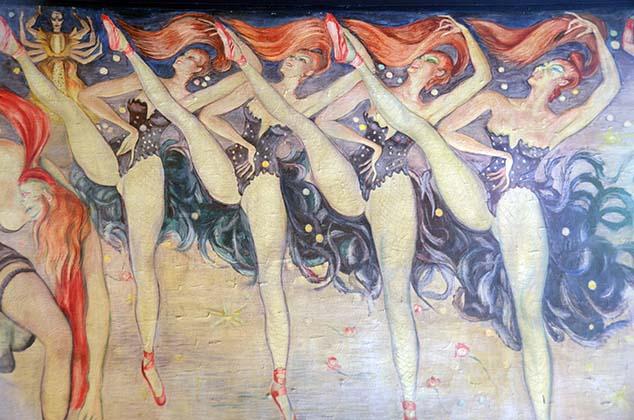 moulin rouge dancers paris