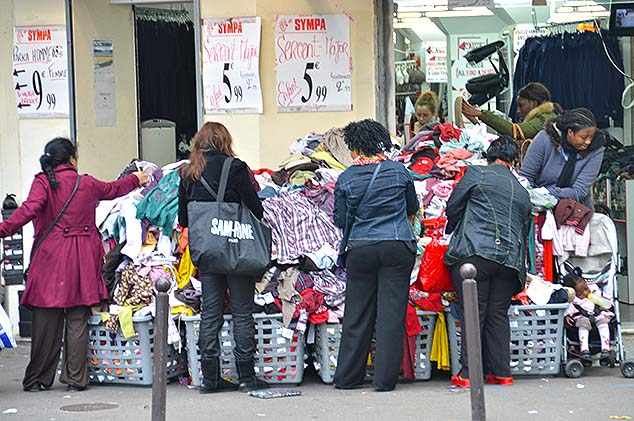 shopping for bargains paris
