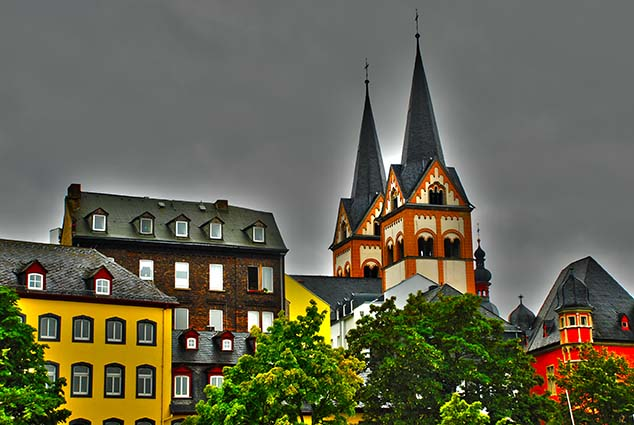 rooftops koblenz germany