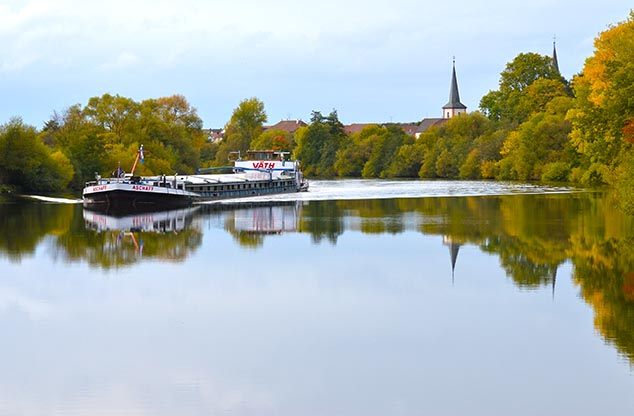 river barge germany