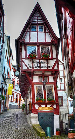 tall building bernkastel germany