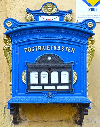 mailbox in cochem