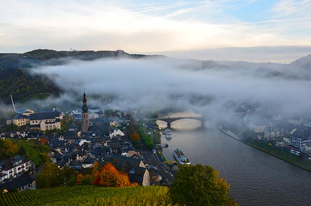 cochem castle germany view
