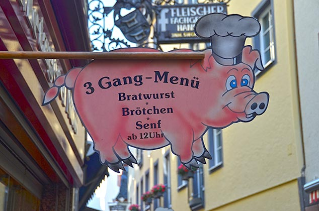 menu cochem germany