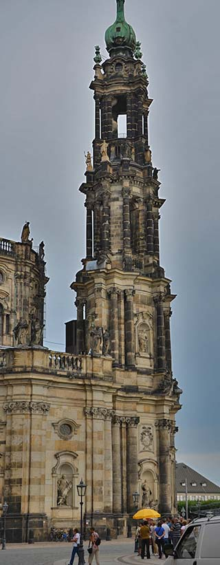 tall tower dresden