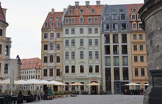 dresden city center buildings