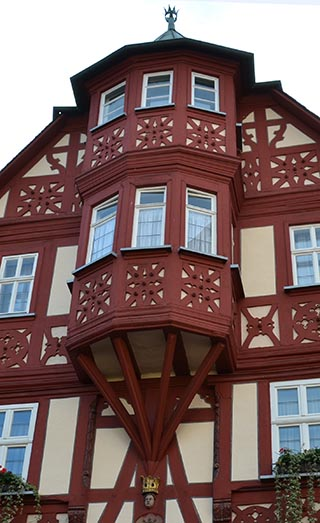 half-timbered house miltenberg germang