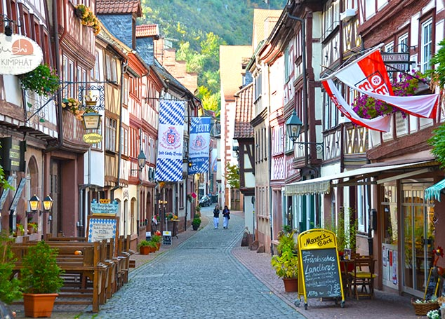 main street miltenberg germany