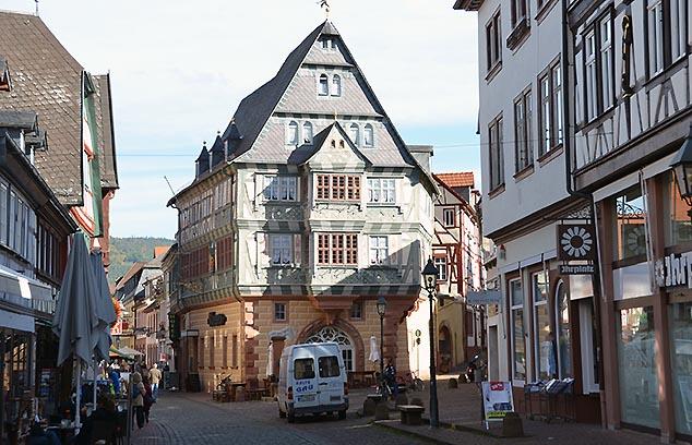 Gastaus zum Riesen Miltenburg germany