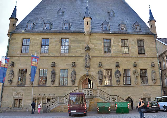 old town hall osnabruck germany