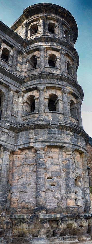 roman wall triet germany