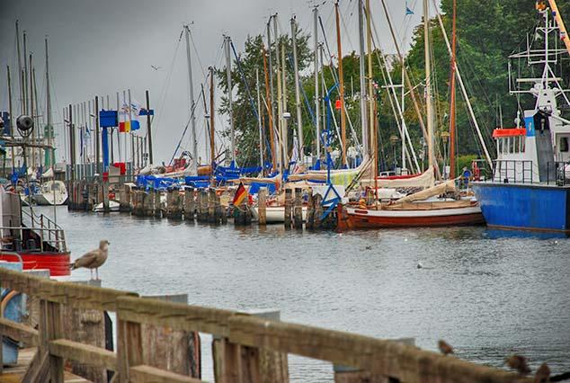 sailboats warnemunde