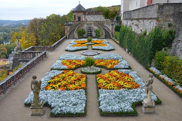 fortress garden wurzburg germany