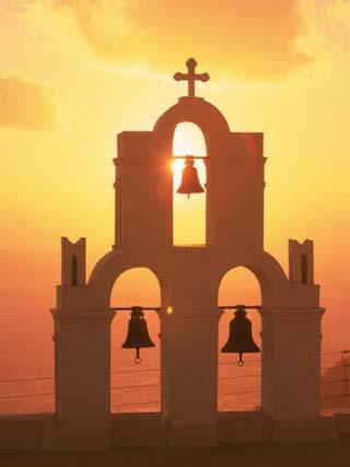 Kimisis Theotokov Church, Santorini, Greece
