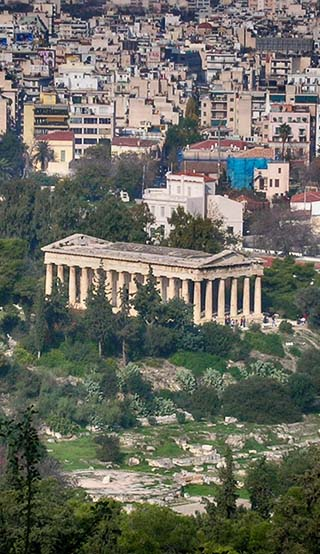 greek ruins greece