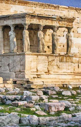 statues greece