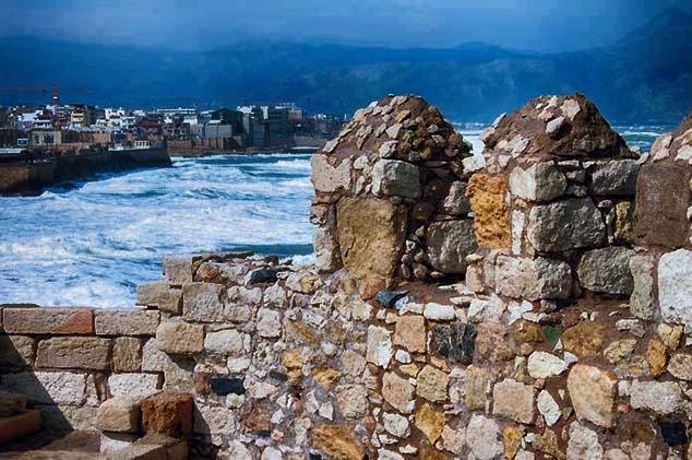 waterfront crete