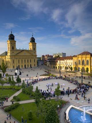 Kalvin Ter Square, Debrecen, Eastern Plain, Hungary
