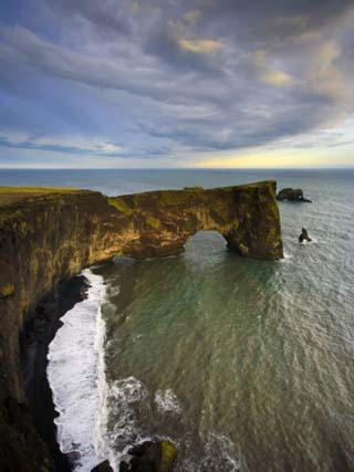 Rock Arch, Dyrholaey, South Coast, Iceland