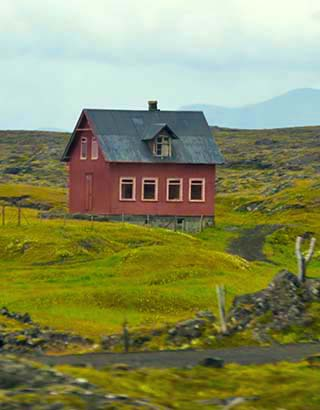 red house iceland