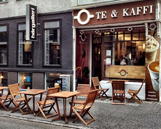 tea and coffee in reykjavikl