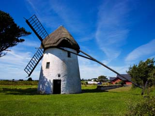 Thatched Windmill, Tacumshane, County Wexford, Ireland