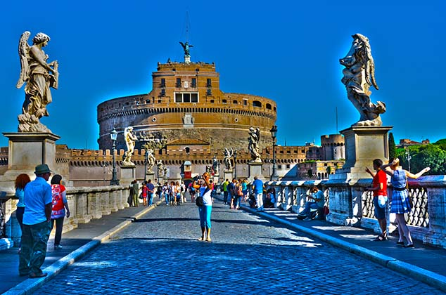 castle saint angelo rome