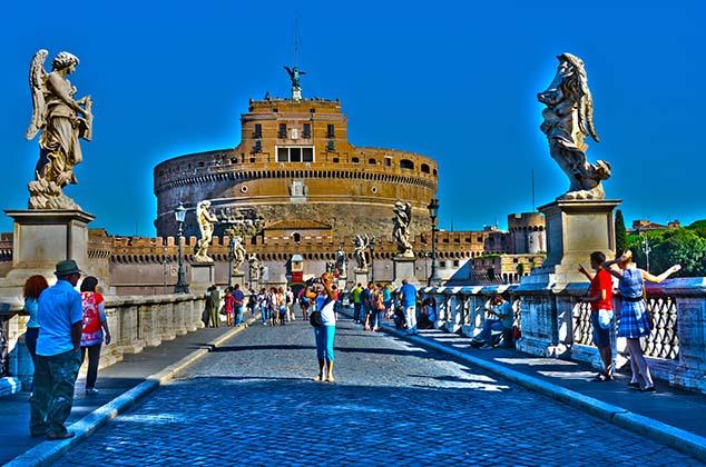 castle saint angelo rome