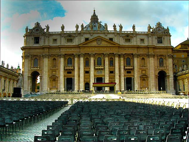 vatican chairs rome