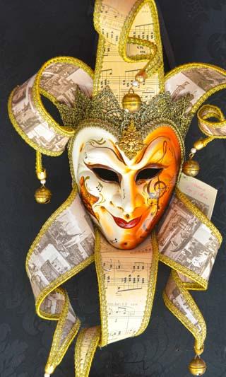 mardi gras mask venice