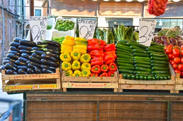 vegetable market venice