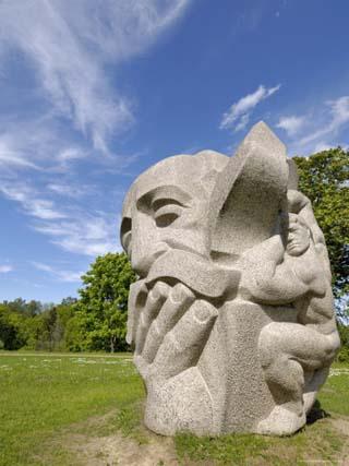 Sculpture Folklore Park, Turaida Museum Reserve, Near Sigulda, Latvia, Baltic States