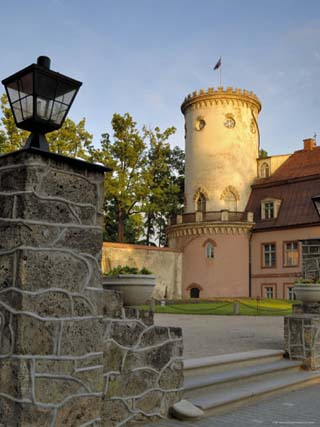 The New Castle, Cesis, Latvia, Baltic States