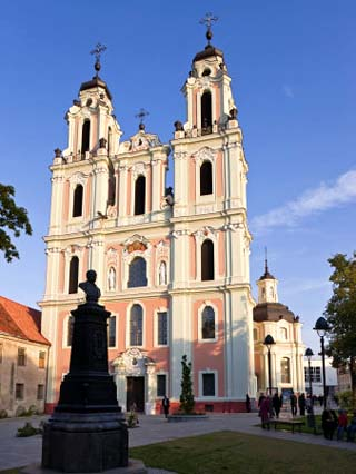 St Catherine's Church and the Benedictine Nunnery, Vilnius, Lithuania