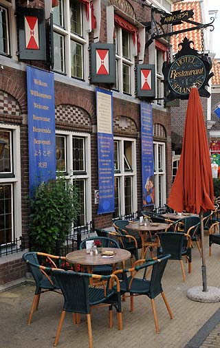 street cafe volendam