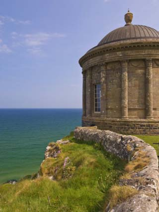 Mussenden Temple, Part of the Downhill Estate, County Londonderry, Ulster, Northern Ireland