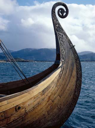 Oseberg Replica Viking Ship, Norway