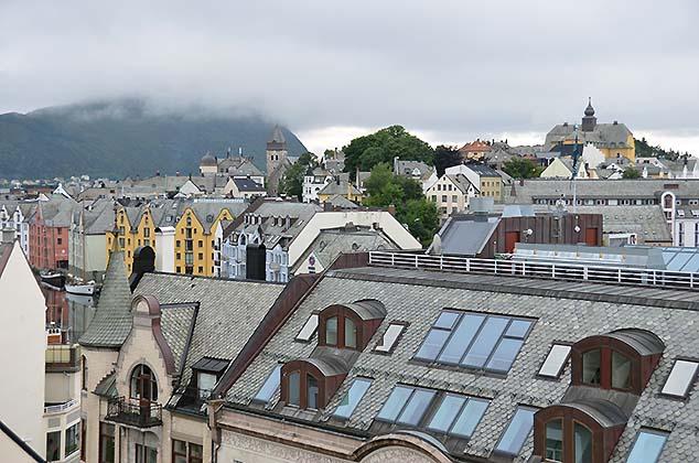 alesund rooftops