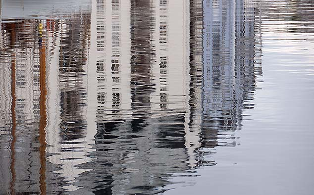 reflections in alesund