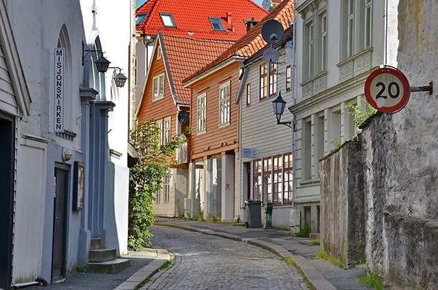 bergen norway street