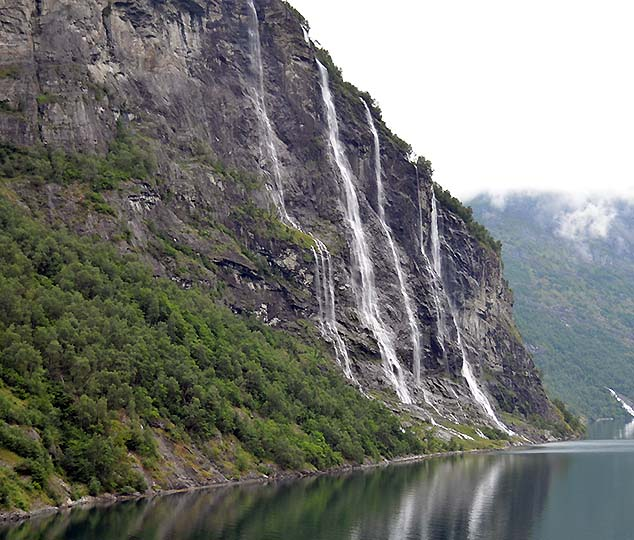 seven sisters norway